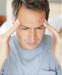 Приступ головной боли при оргазме
